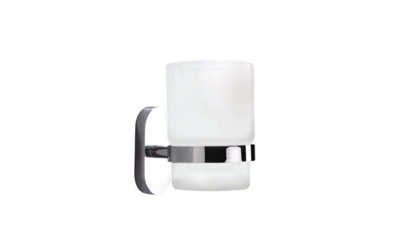 Demerx <br> <strong> Enkel glashållare med 1 glas Zeker line </strong>