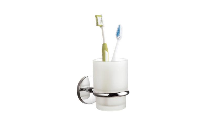 Demerx <br> <strong> Enkel glashållare med 1 glas High Sicuro Line </strong>